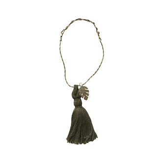 Delight Department-collection WIRE ORNAMENTS OLIVE TASSEL