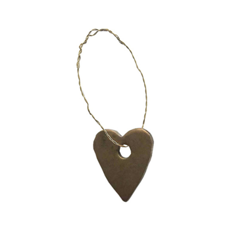 Delight Department-collection METAL HEART ORNAMENTS