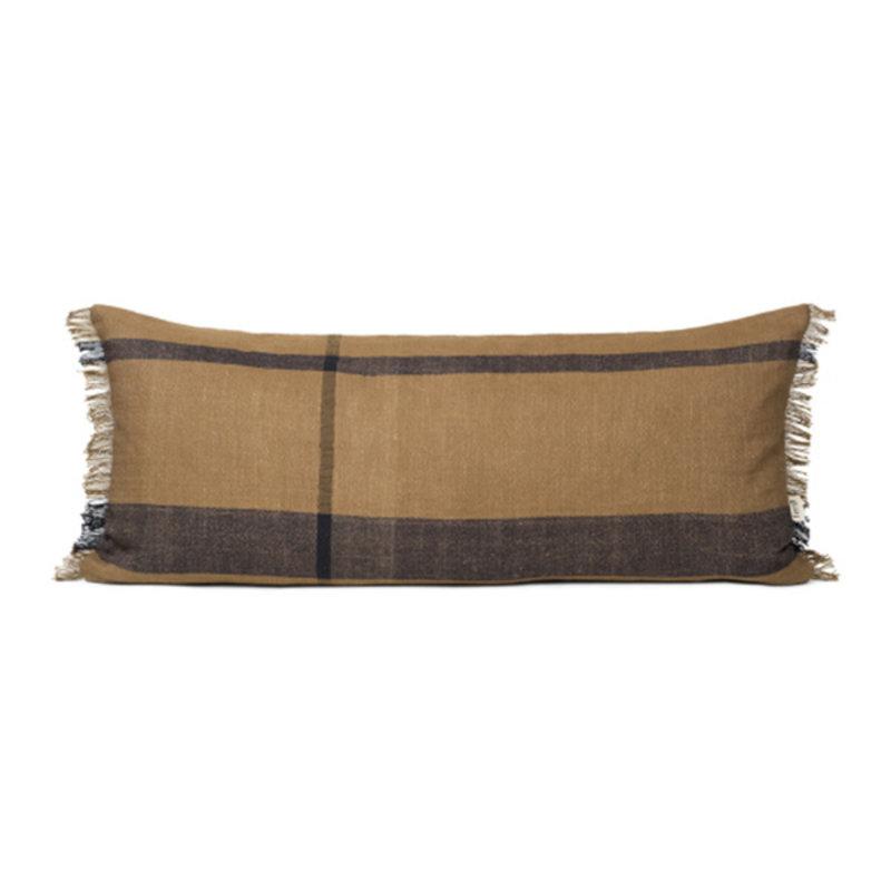 ferm LIVING-collectie Dry Cushion - Long - Sugar Kelp Black