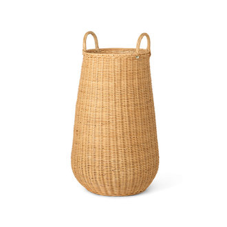 ferm LIVING Braided Laundry Basket - Natural