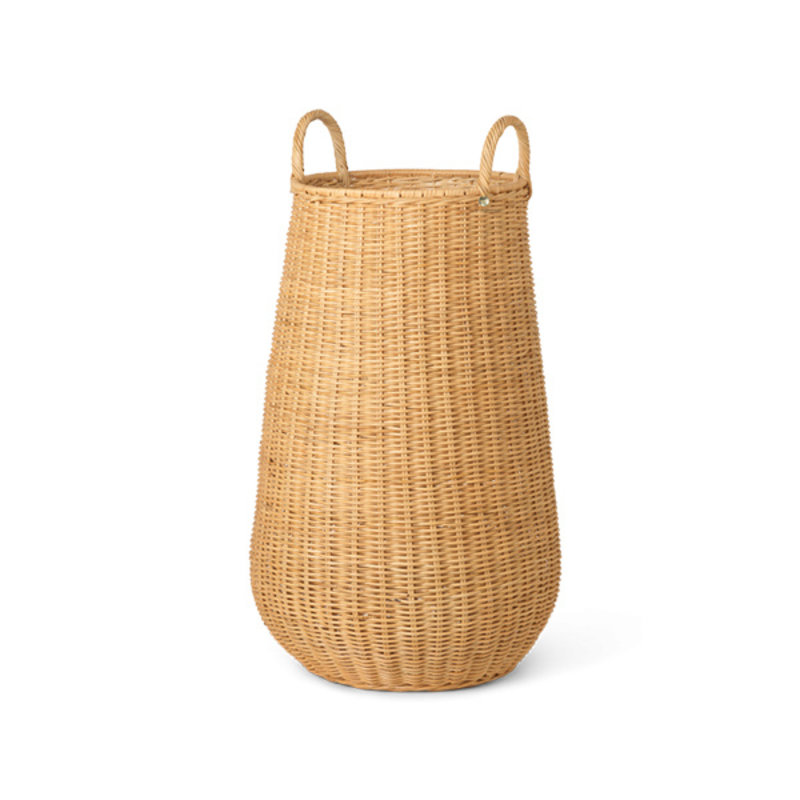 ferm LIVING-collectie Braided Laundry Basket - Natural