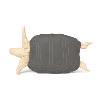 ferm LIVING Turtle Quilted kussen Deep Forest