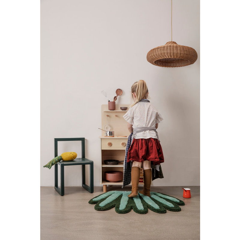 ferm LIVING-collectie Braided Lamplampenkap naturel