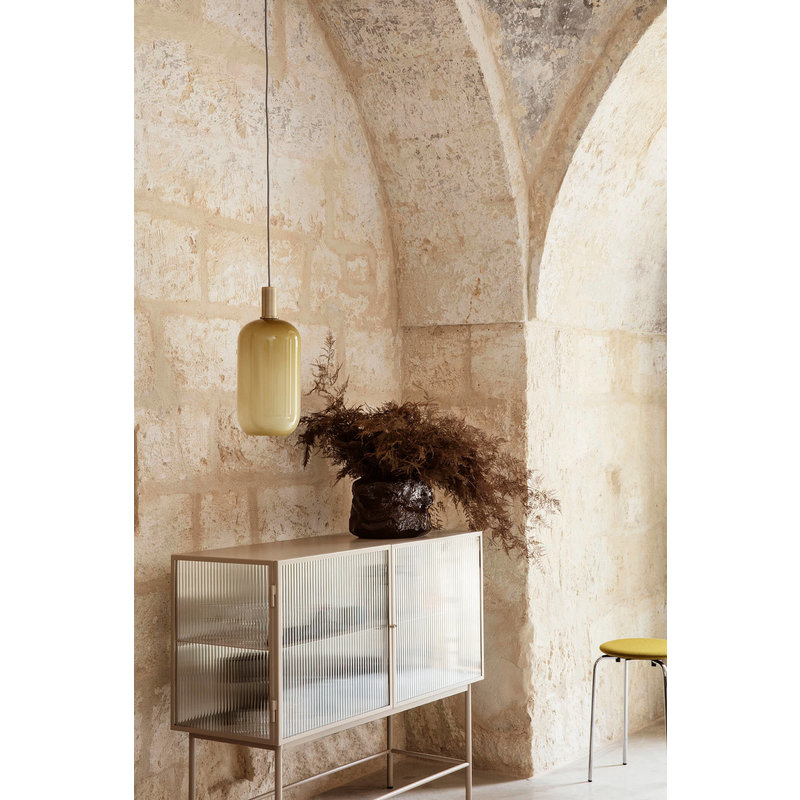ferm LIVING-collectie Opal Shade Tall Southern Moss