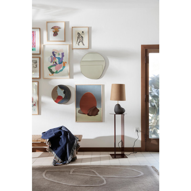 ferm LIVING-collectie Hebe Lamp Base Small Black
