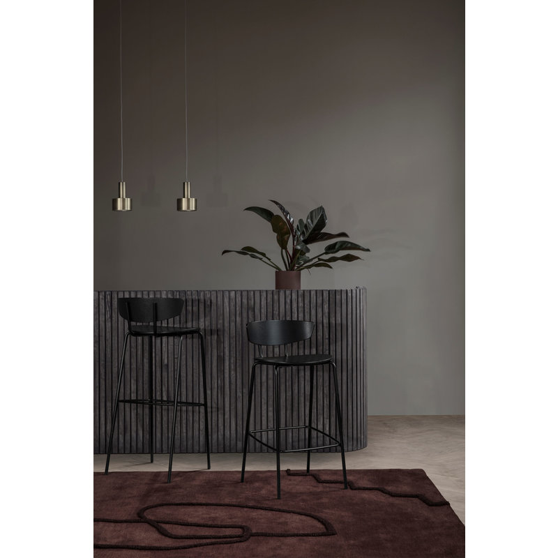ferm LIVING-collectie Collect hanglamp Low donkerblauw