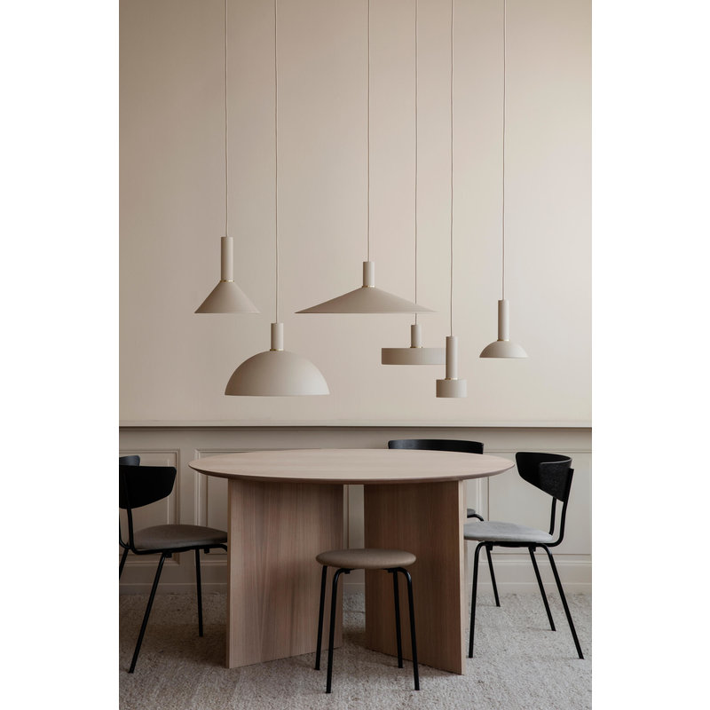 ferm LIVING-collectie Collect Dome lampenkap Cashmere