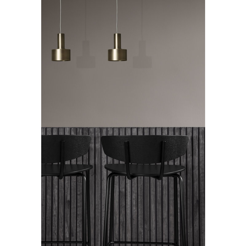 ferm LIVING-collectie Collect Disc Shade Light Grey