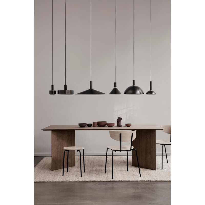ferm LIVING-collectie Collect Cone Shade Black