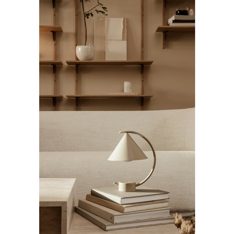 ferm LIVING-collectie Tafellamp Meridian messing