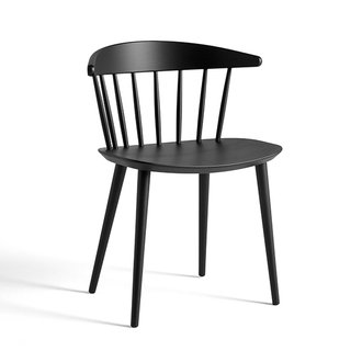 HAY J104 CHAIR Black stained beech