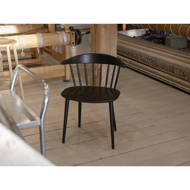 HAY-collectie J104 CHAIR Black stained beech