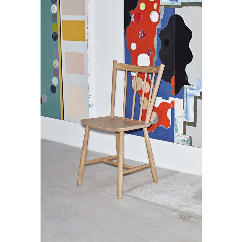 HAY-collectie J41 CHAIR Oiled oak