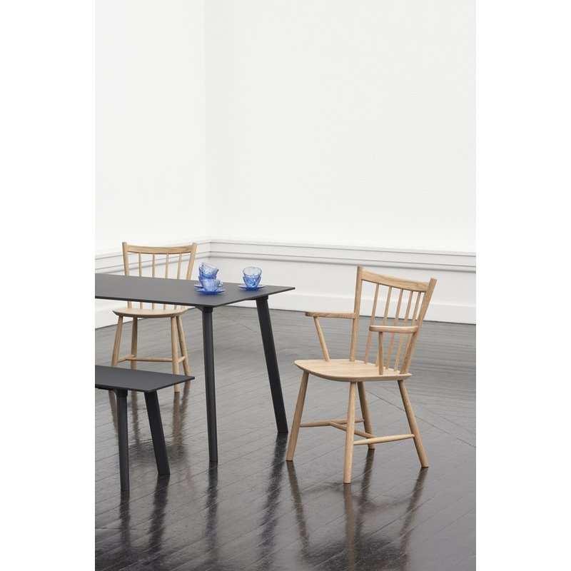 HAY-collectie J42 CHAIR Black stained beech