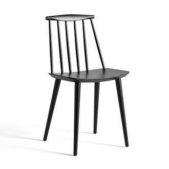 HAY J77 CHAIR Black stained beech