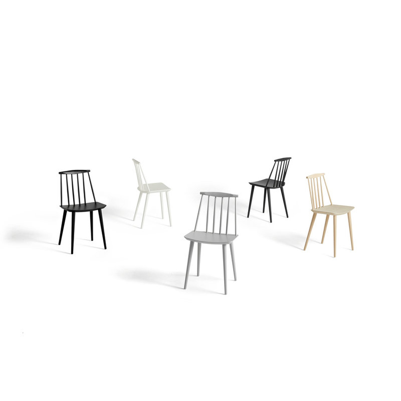 HAY-collectie J77 CHAIR Black stained beech