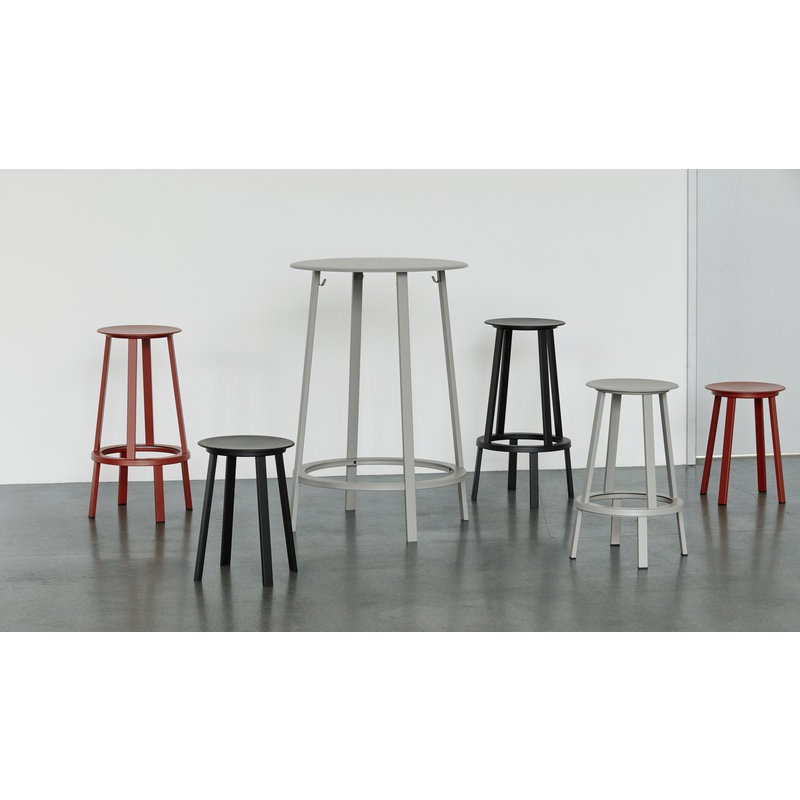HAY-collectie REVOLVER BAR STOOL LOW