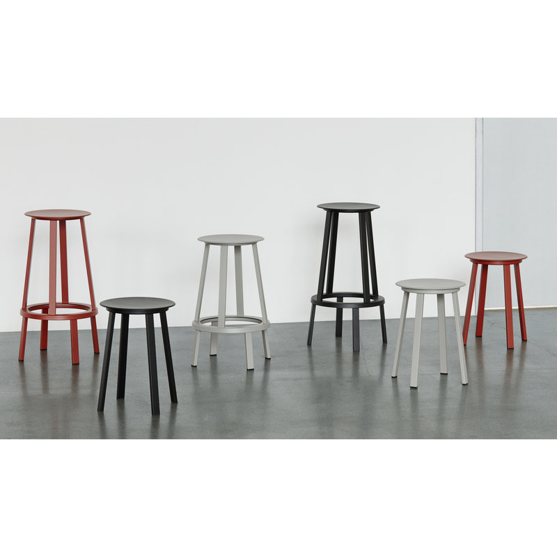 HAY-collectie REVOLVER BAR STOOL HIGH