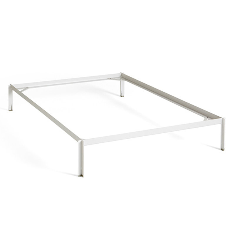 HAY-collectie Connect Bedframe Wit L200 X B140