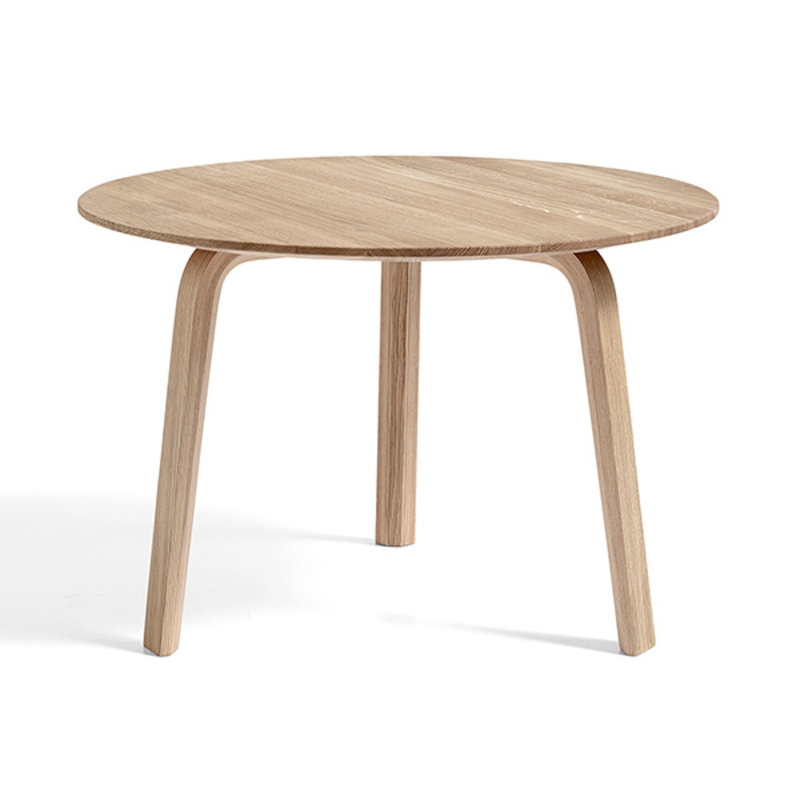 HAY-collectie BELLA COFFEE TABLE Matt lacquered solid oak Ø60 X H39