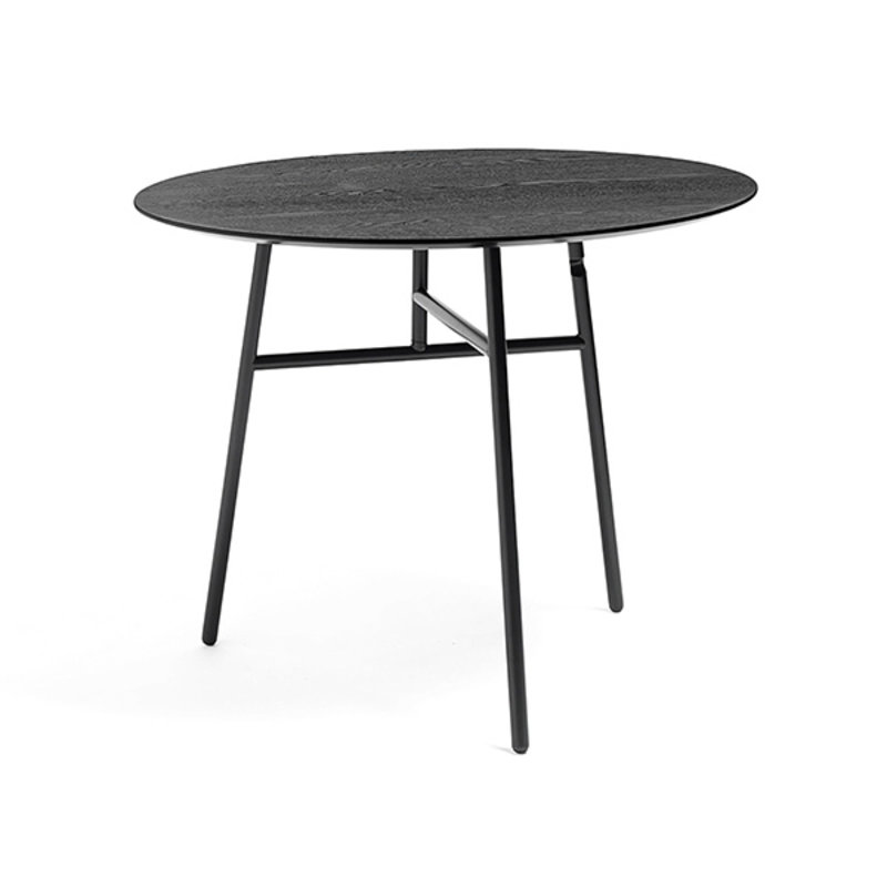 HAY-collectie Tilt Top Table Tafel zwart