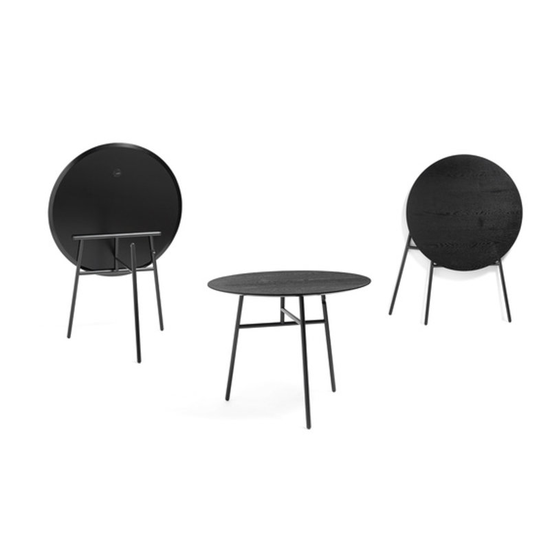 HAY-collectie TILT TOP TABLE BLACK