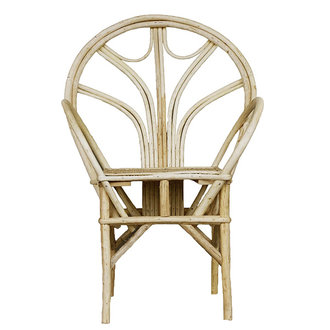 Household Hardware Essaouira chair natural, bow, type 2