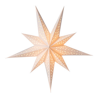 Bungalow Paper Star Twinkle White 60 cm