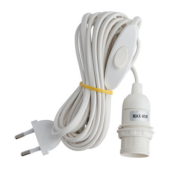 Bungalow Electric cord white