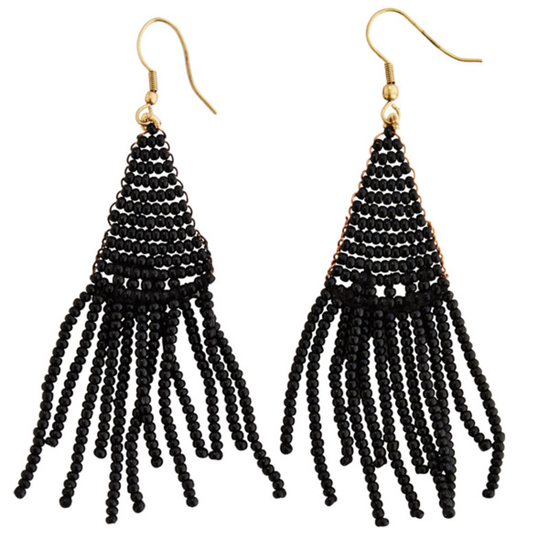 Madam Stoltz-collectie Beaded earrings