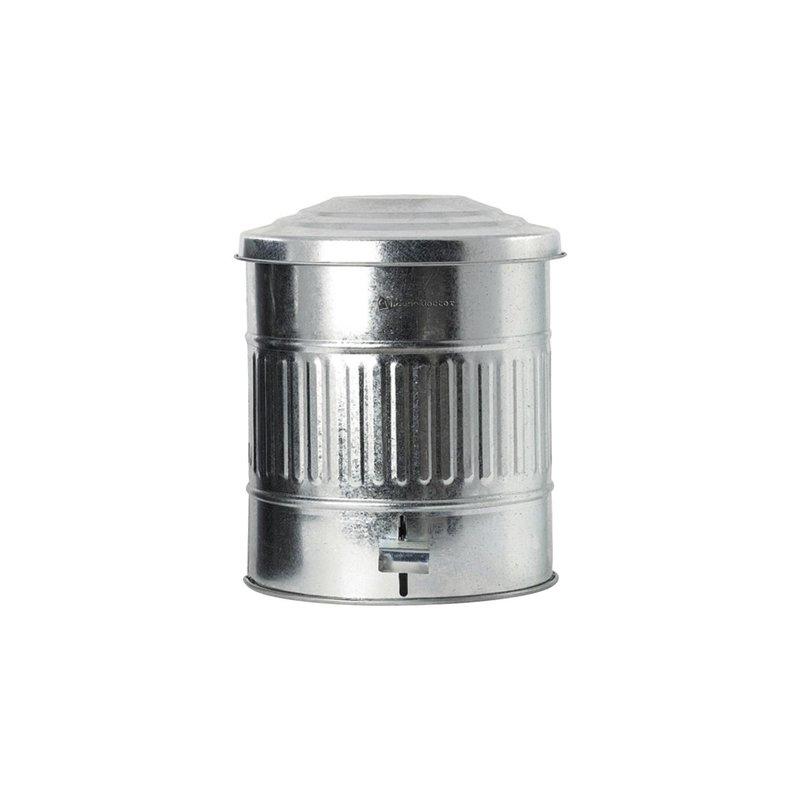 House Doctor-collectie Prullenbak Zinc