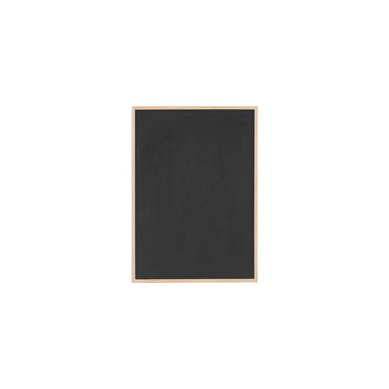 House Doctor-collectie Magnetic chalk board, Black, w. white marker