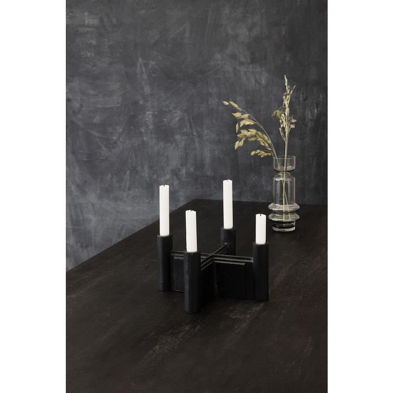 House Doctor-collectie Kandelaar Layers Zwart