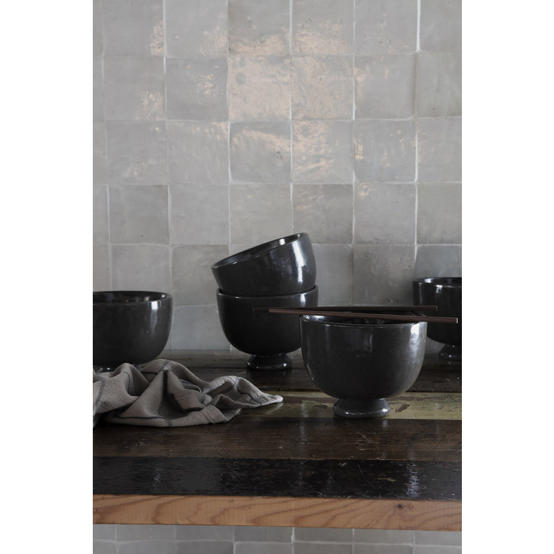 House Doctor-collectie Bowl, Imma, Grey/Brown