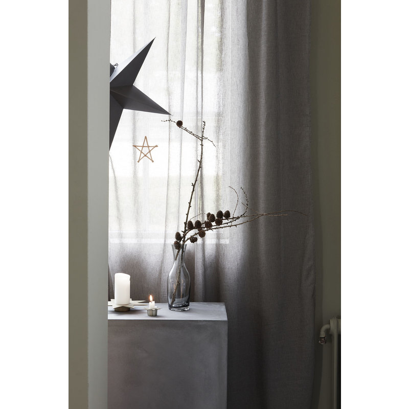 House Doctor-collectie Candle stand, Star, Antique metallic, (candle/dia: 6 cm)