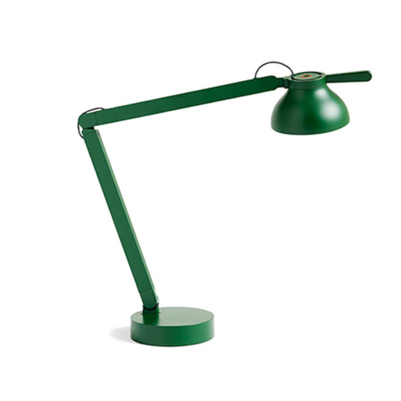 HAY-collectie PC Double Arm Bureaulamp groen