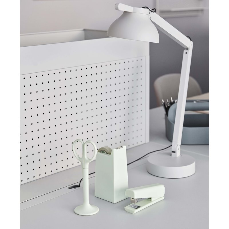 HAY-collectie PC Double Arm Bureaulamp asgrijs