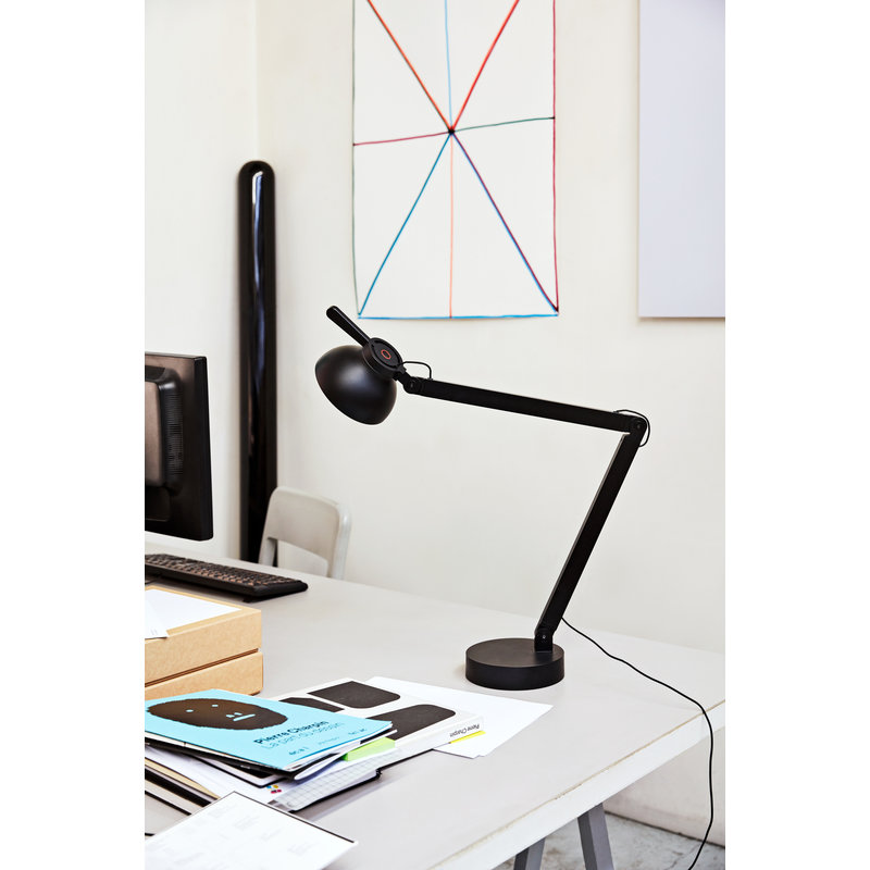 HAY-collectie PC Double Arm Bureaulamp zwart