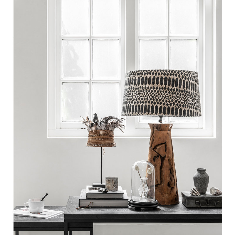 MUST Living-collectie Table lamp Jungle tribal large