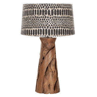 MUST Living Table lamp Jungle tribal large