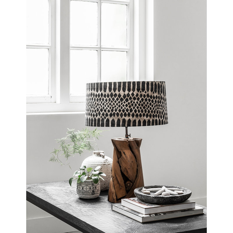MUST Living-collectie Table lamp Jungle tribal small