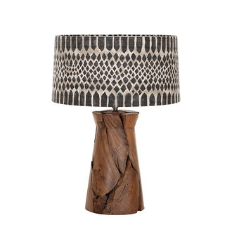 MUST Living Table lamp Jungle tribal small