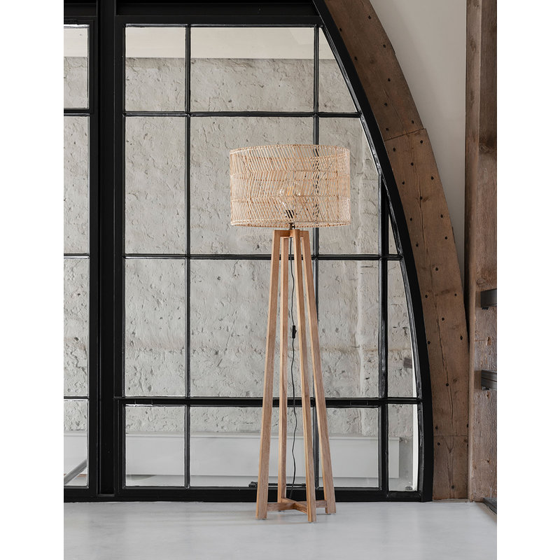 MUST Living-collectie Floor lamp Es Canar NATURAL