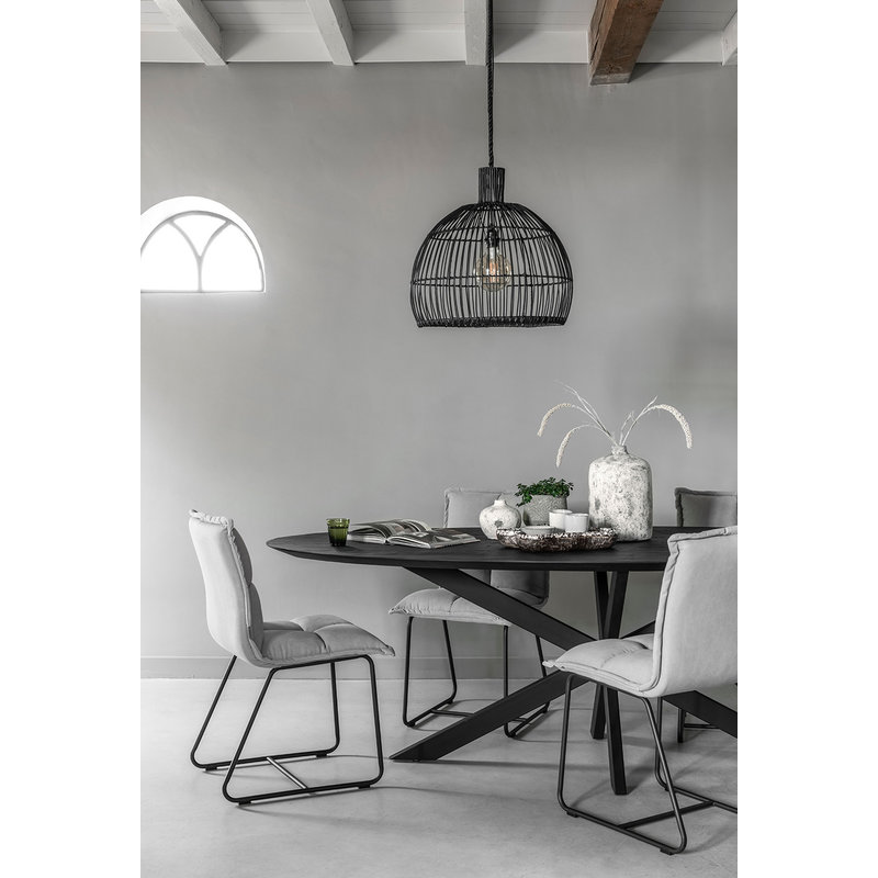 MUST Living-collectie Pendant lamp Las Salinas Large BLACK