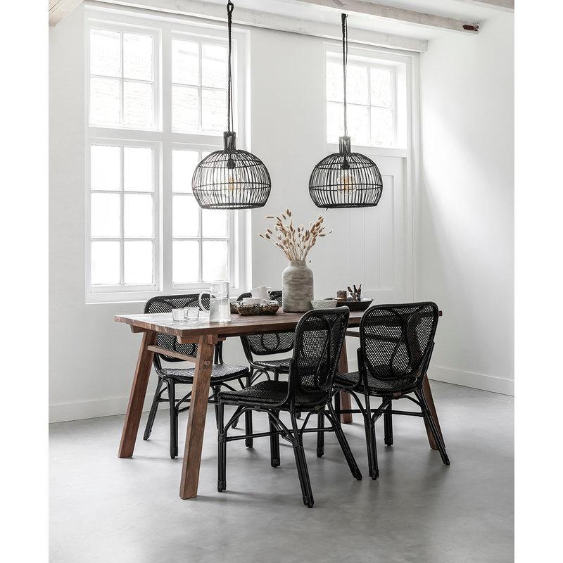 MUST Living-collectie Pendant lamp Las Salinas small BLACK