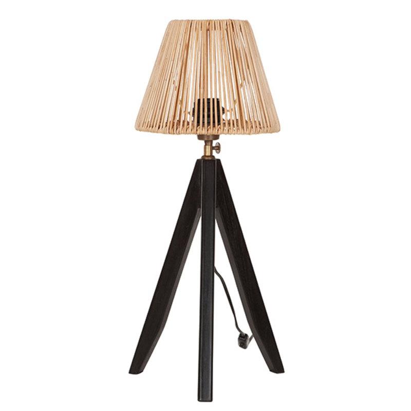 MUST Living-collectie Tafellamp Montecristo zwart