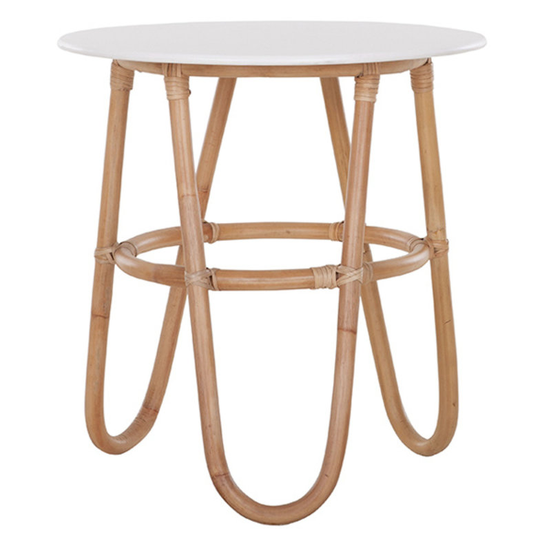 MUST Living-collectie Side Table Buenavista WHITE