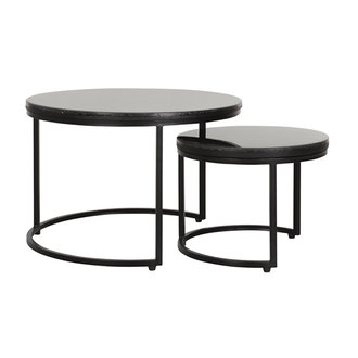 MUST Living Salontafel Palm Springs set van 2 rond
