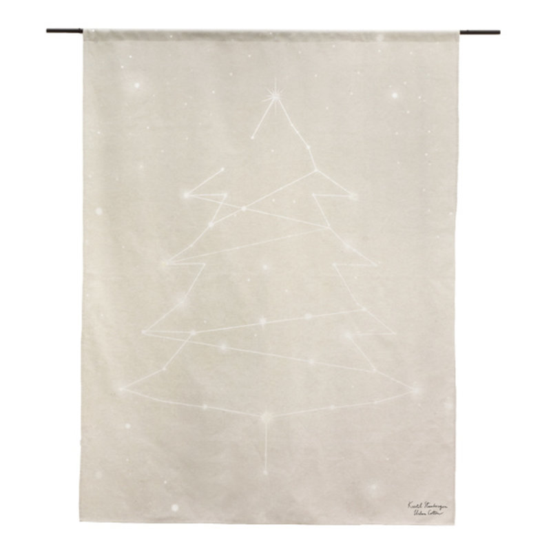 Urban Cotton Amsterdam-collectie Starry Night - Walldecoration