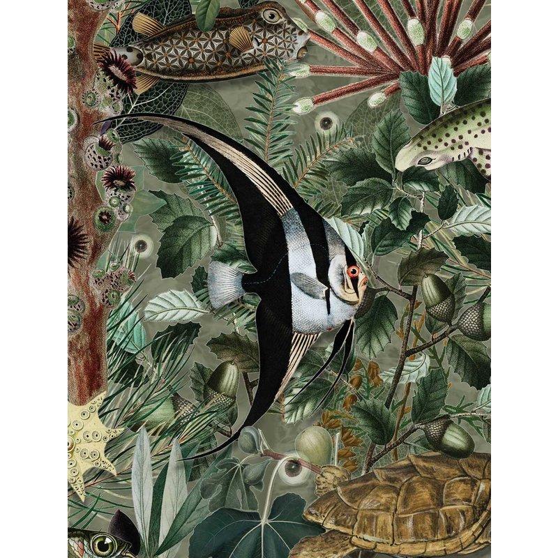 KEK Amsterdam-collectie Underwater Jungle behang Mural 685